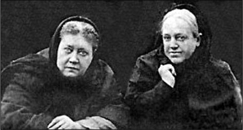 Е. П. Блавасткая и теософисты В. П. Желиховская