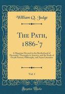 Ясновидение  Мурдхна Джоти, «Путь» апрель 1886 г.